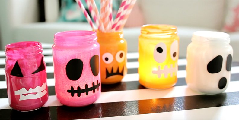 Halloweenpyssel med Kreativa Karin