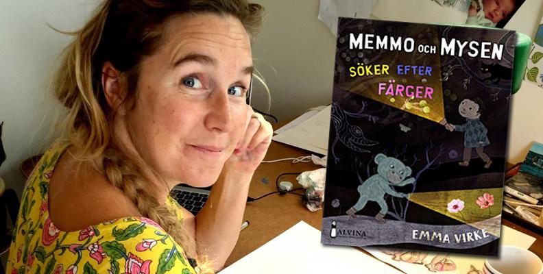 """Teresa Tingbrand tipsar om """"Memmo och mysen söker efter färger"""""""