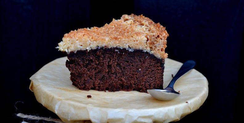 Recept på chokladkaka med kokostosca