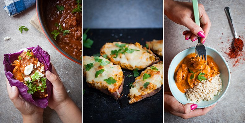 5 vegetariska middagstips