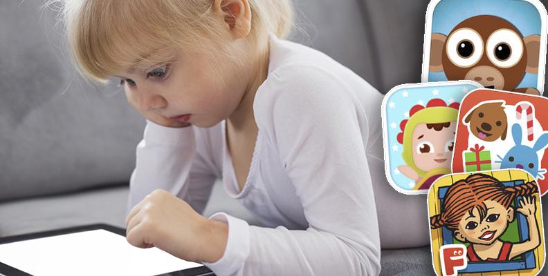 8 tips på appar för små barn