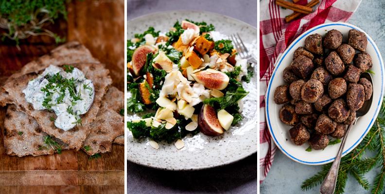 Recept: Vegetariskt till julbordet