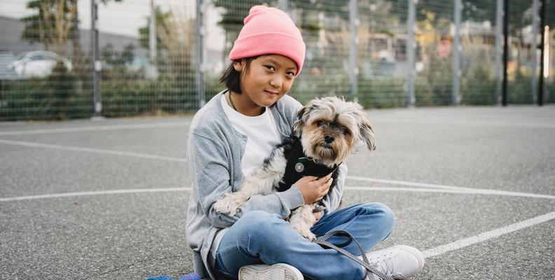 Fördelar med husdjur: Hund hemma ger friskare barn