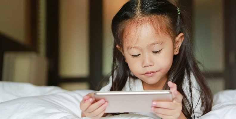 skärmtid söker barns IQ