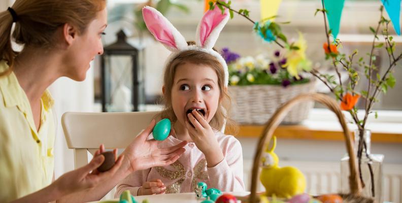 Vad kan man lägga i påskägget istället för godis?
