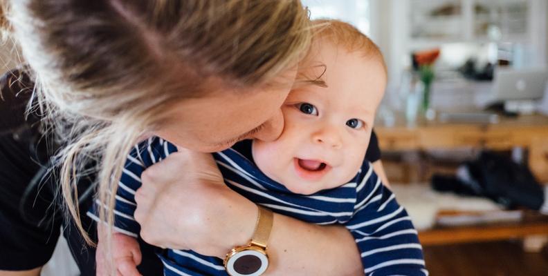 En push-present till mamman är en fin gest