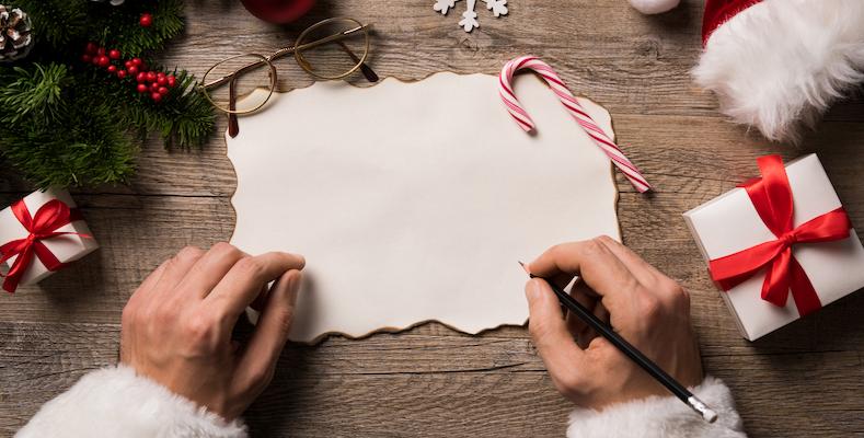 Skriva julrim