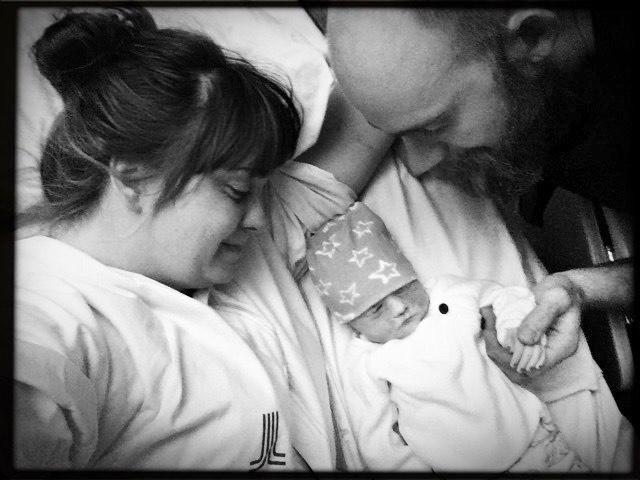 Edith efter förlossningen