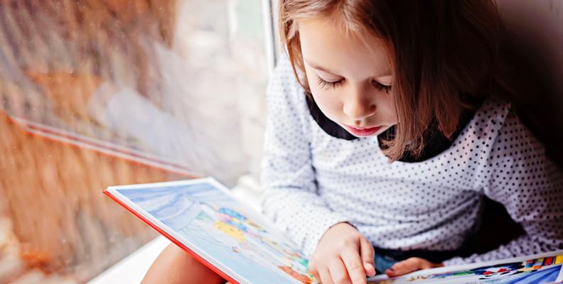 Barn med dyslexi