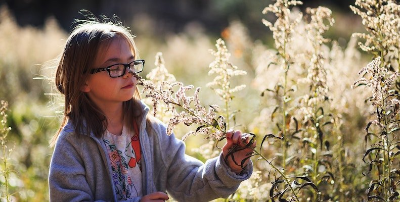 barn-blomma