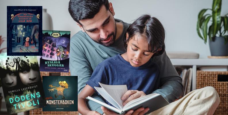 Rysligt värre! 12 riktigt läskiga barnböcker att läsa tillsammans